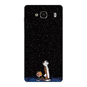 Stylish Counting Stars Multicolor Back Case Cover for Redmi 2s