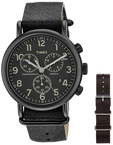 Timex Weekender Analog Black Dial Unisex Watch - TW2P622006S  available at amazon for Rs.4121