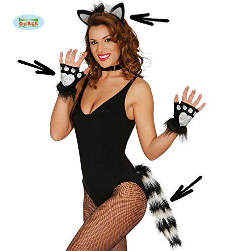 Halloween Sexy Black And White Instant Kit Cat Or Scunk