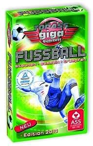Jeu de cartes Top ass Giga Quartet Football