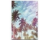 SIN-US 74 Palmen mit nostalgischen Lichteffekten - Poster gerollt 90x60cm