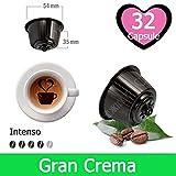 32 Capsule Caffè Gran Crema Compatibili Nescafè Dolce Gusto