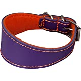 Arppe 195464535153Halskette Galgo oder Leder Filz Orinoco, Orange und Violett