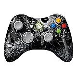 Rapid Fire Benutzerdefinierte Microsoft Xbox 360 Wireless Regler Modded Xbox 360 Regler - Shattered Glass - COD Erweiterte Warfare, Schicksal, GEISTER Zombie Auto Aim, Drop Shot, Fast Reload und mehr