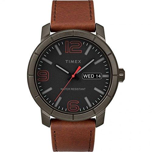 Timex Orologio Analogico Automatico Unisex Adulto con Cinturino in Pelle TW2R64000