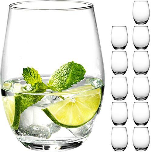 Giessle 12 Wassergläser [ 590 ml groß