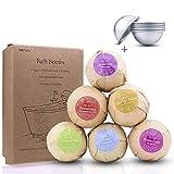 ZesGood - Confezione da 6di perle da bagno con set di 3 stampi per perle da bagno, ideali per aromaterapia e rilassamento; 60g