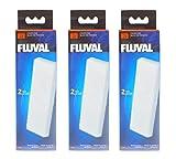 3er Pack FLUVAL U3 Schaumstoff-Filtereinsatz (A487)