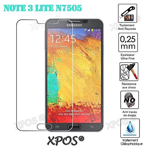 Heavy Duty amunk klar gehärtetem Glas Displayschutzfolie für Samsung Galaxy Note 3Lite billig