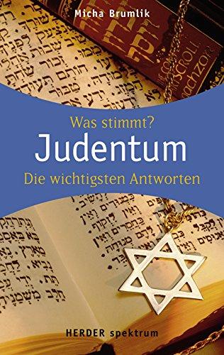 Judentum: Wissen was stimmt (HERDER spektrum)