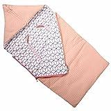 Coprigambe per ovetto Maxi-Cosi - Sacco nanna universale - Rosa con disegno geometrico