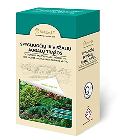 Seklos LT CONIFEROUS AND EVERGREEN PLANT FERTILIZER - 2,5 KG
