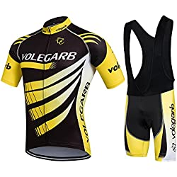 Summer Cycling Clothing for Men - Cornasee Cycling Jersey and Culotte Shorts