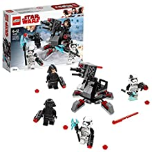 LEGO 75197 Star Wars First Order Battle Specialists Batlle Toy with 4 Star Wars minifigures