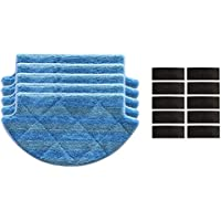 10X Roborock S50 S51 Mop Dry//Wet Clean Tücher Für Xiaomi Robot Staubsauger