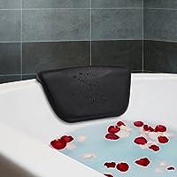 Essort Spa Baño almohada, sintética cojín de baño antideslizante con ventosas, ergonómico para reposacabezas de casa Spa Relajante cabeza, cuello, espalda y hombros, 270x 140x 50mm