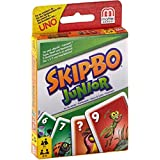 Mattel T1882-0 - Skip-Bo Junior, Kartenspiel