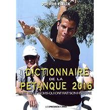 Dictionnaire de la pétanque