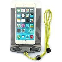 AQUAPAC Smartphone-Tasche Wasserdicht iPhone 6 Plus Case, Grau/Transparent, 20.5 x 11.5 x 2.0 cm, 0.01 Liter, 358
