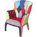 Tomasucci kaleidos C sillón patchwork