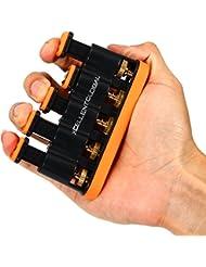 Xcellent Global Ejercitador de Manos y dedos Entrenador fortalecedor - Grandes Ejercicios para la mano, los dedos y la muñeca ejercicios Aparato para entrenar dedos (resistencia muy fuerte) SP025