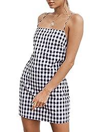 Donna Estate Vestito Mini Vestiti da Partito Cocktail Dress Sexy  Giarrettiere Bandeau Corto Abiti Sottile Senza 620c7676474