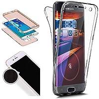 Nadoli 360 Grad Handyhülle für Galaxy S6,Transparent Full-Body Weich Flexibel Einfarbig Farbe Durchsichtig Schutzhülle... preisvergleich bei billige-tabletten.eu
