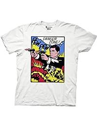Men's - Archer- Danger Zone Pop Art - T-Shirt