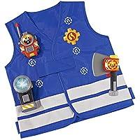 Simba 109250745 - Feuerwehrmann Sam Einsatzset in blau