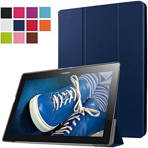 ERLI Lenovo Tab 2 X30F A10-30 Funda, Ultra delgado Smart Funda Carcasa con Stand Función y Auto-Sueño/Estela para Lenovo Tab 2 X30F A10-30 Android Tablet pulgadas
