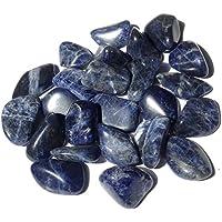 Großer Sodalit Trommelstein Kristall – Heilkristall – Wahrnehmung, Emotionales Gleichgewicht, Klarheit – Kristalltherapie... preisvergleich bei billige-tabletten.eu