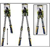 Kinzo Coupe-branches télescopique coupe jusqu'à 4cm d'épaisseur des branches en aluminium