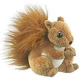 Red Squirrel Plush Stuffed animal by Wild Life Artist