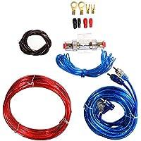 kit de coche Altavoz de sonido universal Amplificador de fusibles Amplificador cableado Cable de alambre Completo de coche Kit de cableado de amplificación Gauge para altavoces Kit de subwoofers