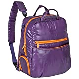 Lässig Glam Global Bag POP Wickeltasche/Babytasche inkl. Wickelzubehör, dark purple