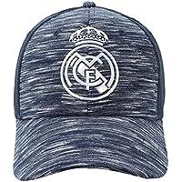 Gorra Oficial Real Madrid CF - Azul Jaspeado Rejilla - Tallaje Adulto 6f1a60b12a5