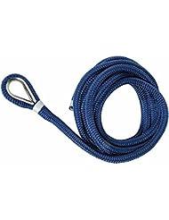 Osculati 06.443.81 - Cima ormeggio impiombata 12 mm x 7 m blu (Spliced mooring line blue 12 mm x 7 m)