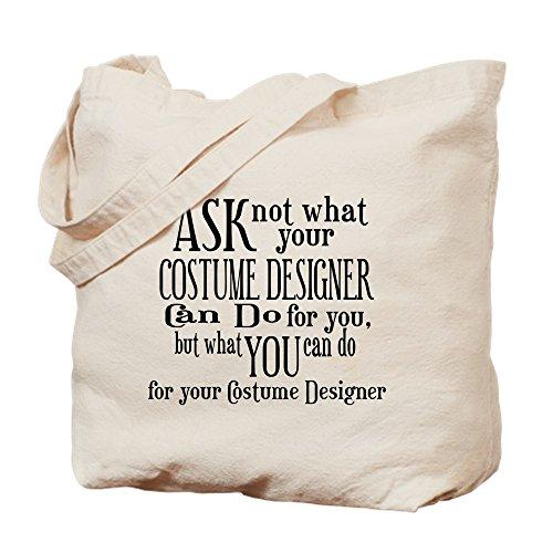 CafePress Ask Not Costumer Einkaufstasche aus natürlichem Segeltuch (Benutzerdefinierte Theater Kostüme)