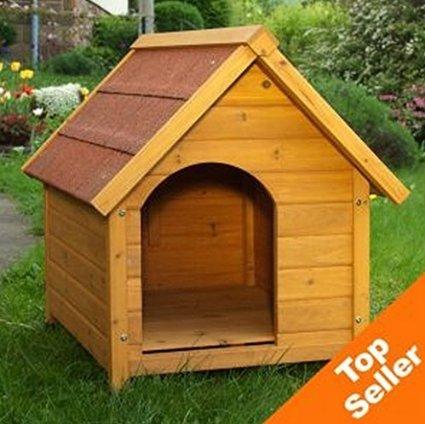 -Caseta perro resistente atractivo Exterior Caseta