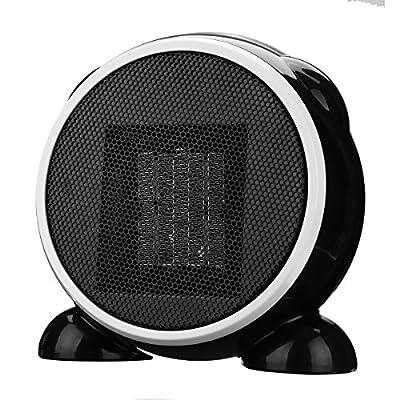 SAFETYON Handy Heater 500W Elektrische Heizung mini Heizgerät mit Timer Thermostat, Keramik Heizlüfter für die Steckdose EU von SAFETYON auf Heizstrahler Onlineshop