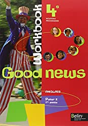 Anglais 4e Good news : Cahiers d'exercices