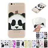 V-Ted Coque Apple iPhone 7 Plus 8 Plus Panda Silicone Ultra Fine Mince Bumper Housse...