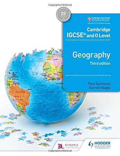 Cambridge IGCSE and O Level Geography 3rd edition (Cambridge Igcse & O Level)