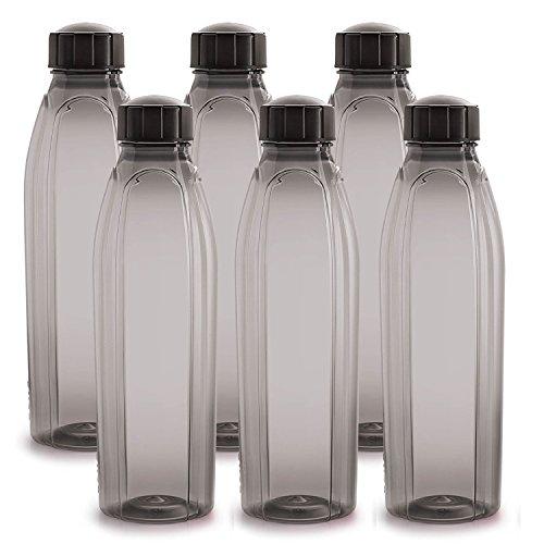 Cello Crystal PET Bottle Set, 1 Litre, Set of 6,...