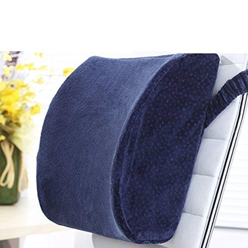 Office Chair cintura/Cuscino/ memory foam pad lombare/Cuscino lombare massaggia-A