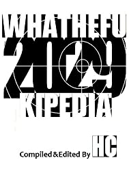 Whathefukipedia 2029 (English Edition)