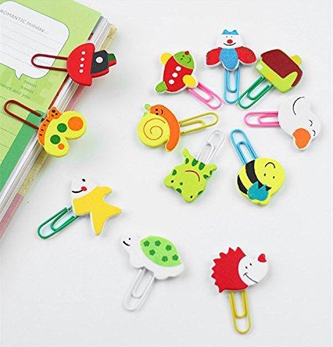 genren52cartoon-legno-clip-paper-color-cute-animal-clip-segnalibro