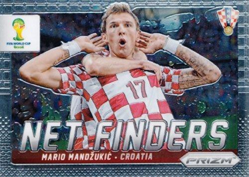 Panini Prizm World Cup Brazil 2014 Net Finder # 15 Mario Mandzukic Croatia