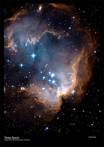 hubble-space-telescope-poster-new-stars-shed-light-on-the-past-size-a2-59-x-42cm-approx-ds4