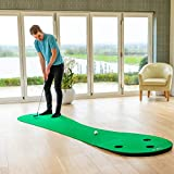FORB Home Golf Putting Mat [10ft] - Roll Away Indoor Putting Mat